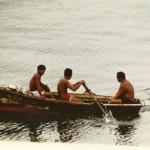 Diebe mit Beute im Hafen von Veracruz - Mexiko